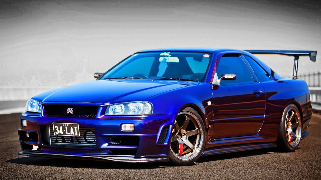 ultimate nissan skyline gt r r34 sound compilation 2 youtube. Black Bedroom Furniture Sets. Home Design Ideas