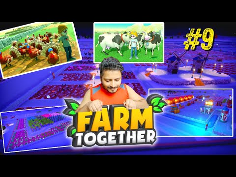 Farm Together| Part 09 | Ek Naya Look Mere Farm Ka 😍😍 | #Hindi #Farm #Together #09