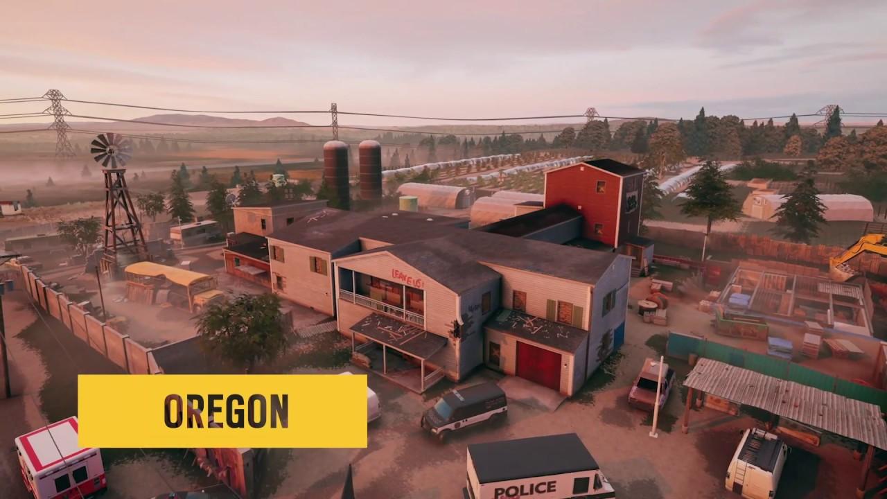Oregon Map Tour Tips Rainbow Six Siege Youtube