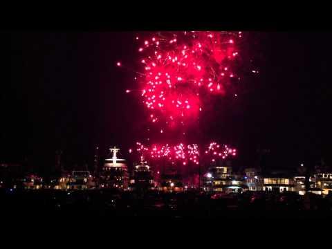 feux d'artifice pyromélodiques (fireworks with music) Monaco 25 august 2012