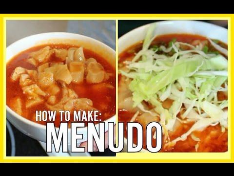 MENUDO RECIPE: TRIPE SOUP