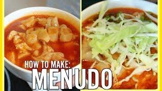 MENUDO RECIPE | TRIPE SOUP
