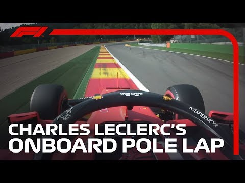 Charles Leclerc Storms To Spa Pole | 2019 Belgian Grand Prix | Pirelli