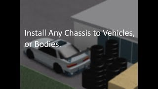 Roblox Studio - Installer A-Chassis aux véhicules