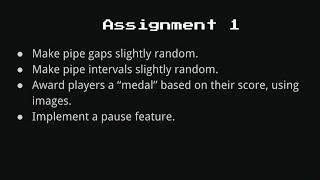 Assignment 1 | Fifty-Bird-Master | Harvard Online Game Development Course