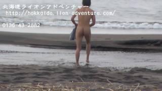 北海道ライオンアドベンチャー ダッキーin雷電海岸 2010 7 2