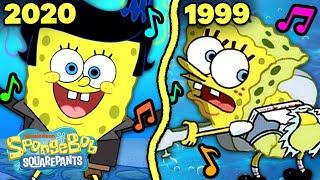 The BEST of SpongeBob Songs Through the Years! 🎵