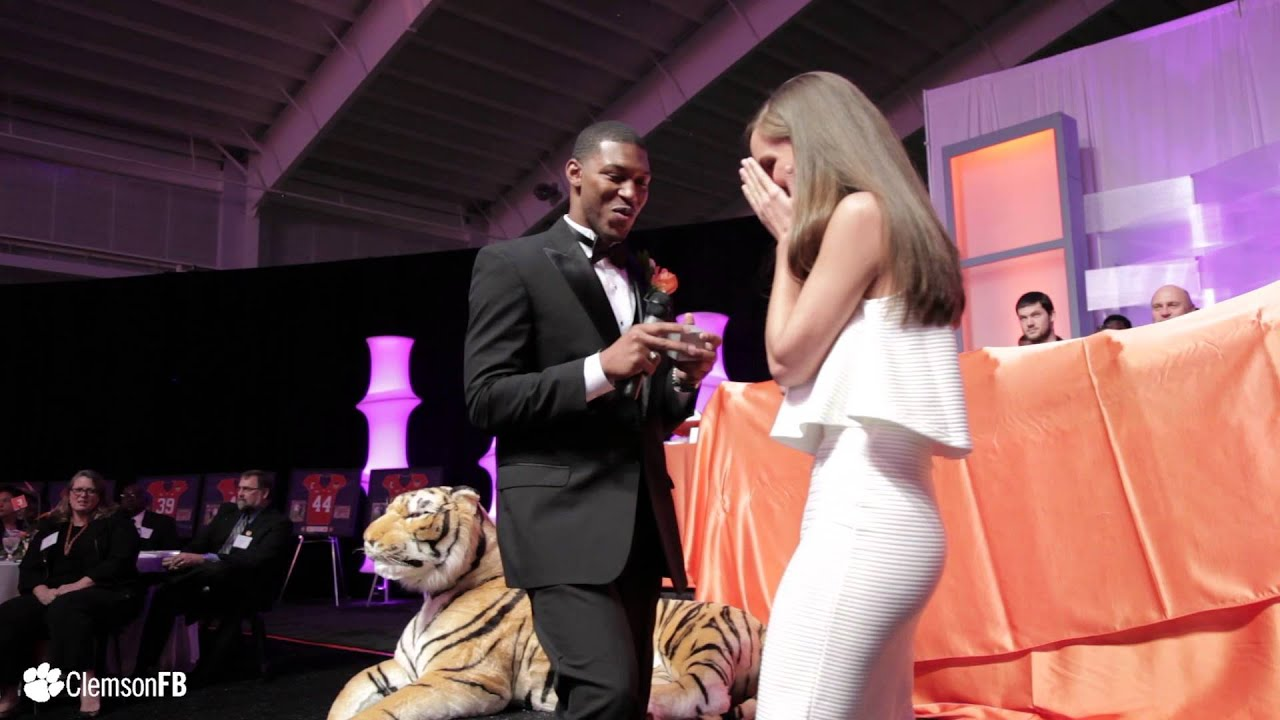 YouTube Football - Clemson Proposals || Player