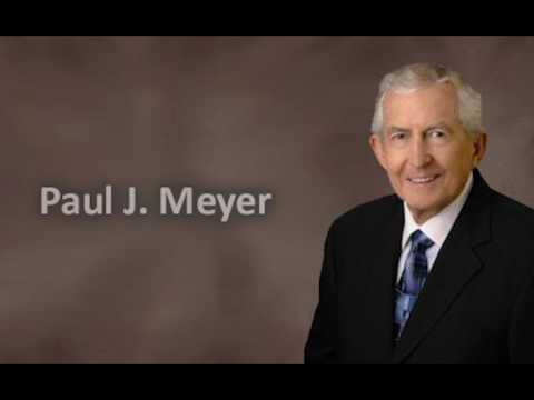 Goal Setting By Paul J Meyer