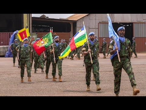 Portuguese peacekeepers congratulated for their actions