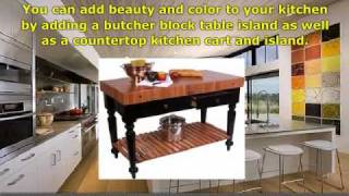 A Butcher Block Table Island Is A Great Item That Can Make Y
