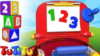 Числа обучения на английском языке | Набор для рисования | TuTiTu дошкольный