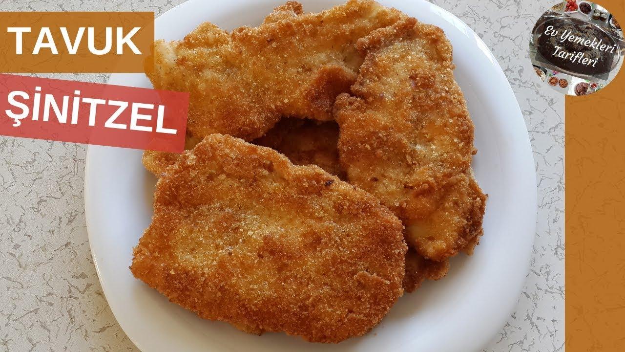 Tavuk Şinitzel Tarifi - Şinitzel Nasıl Yapılır (Schnitzel Tarifi) - Ev Yemekleri Tarifleri