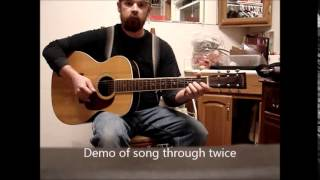 Cotton-Eyed Joe Simple Guitar Melody with Chord Strums