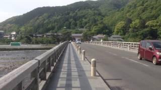 2017 5 7 朝の京都 嵐山 渡月橋 ☆ Arashiyama Togetukyo Kyoto ☆ GW