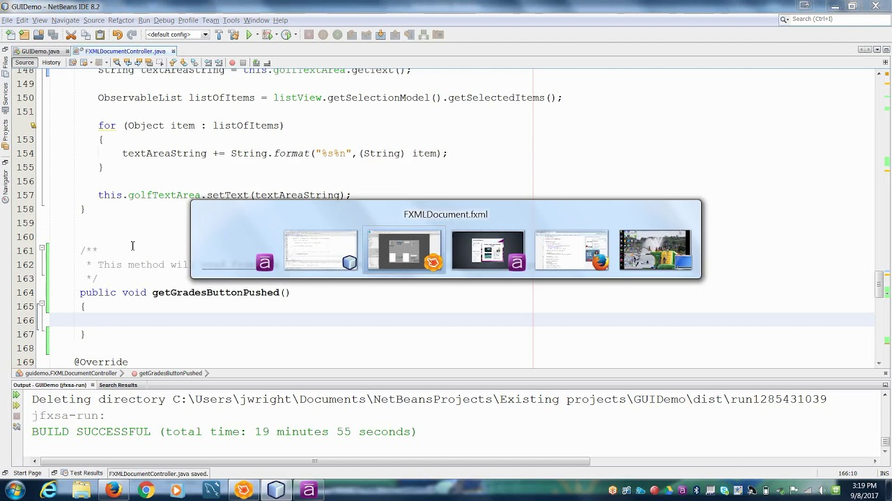 Get info from Spinner in JavaFX