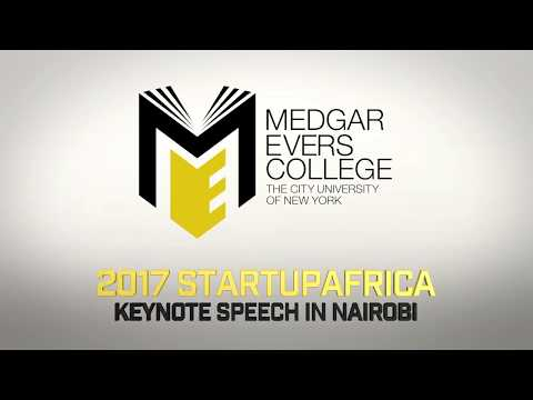 Medgar Evers College of Business   StartUp Africa   AUGUST 2017