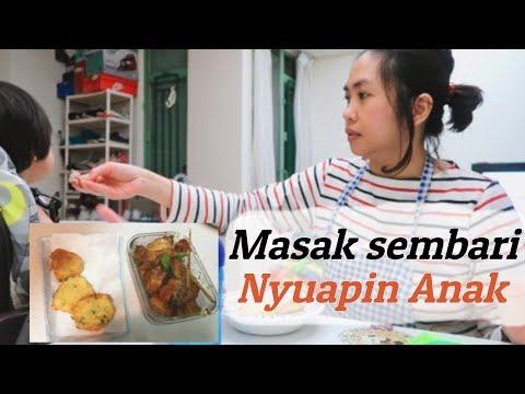 Ibu Rumah Tangga Masak Ayam Kecap Ala Nikmatul Rosidah Urus Anak Youtube