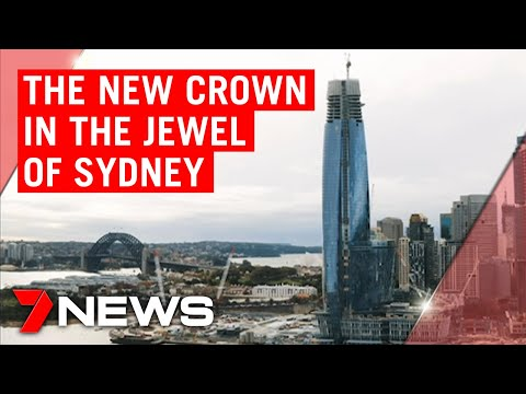 The new Crown Tower becomes Sydney's tallest building | 7NEWS