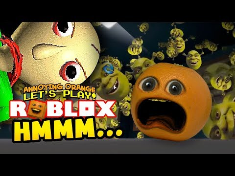 Roblox: HMMM... [Annoying Orange Plays]