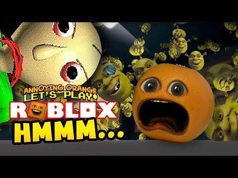 Roblox: HMMM Annoying Orange Plays