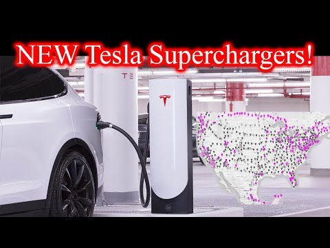 New Tesla Superchargers! City Superchargers!