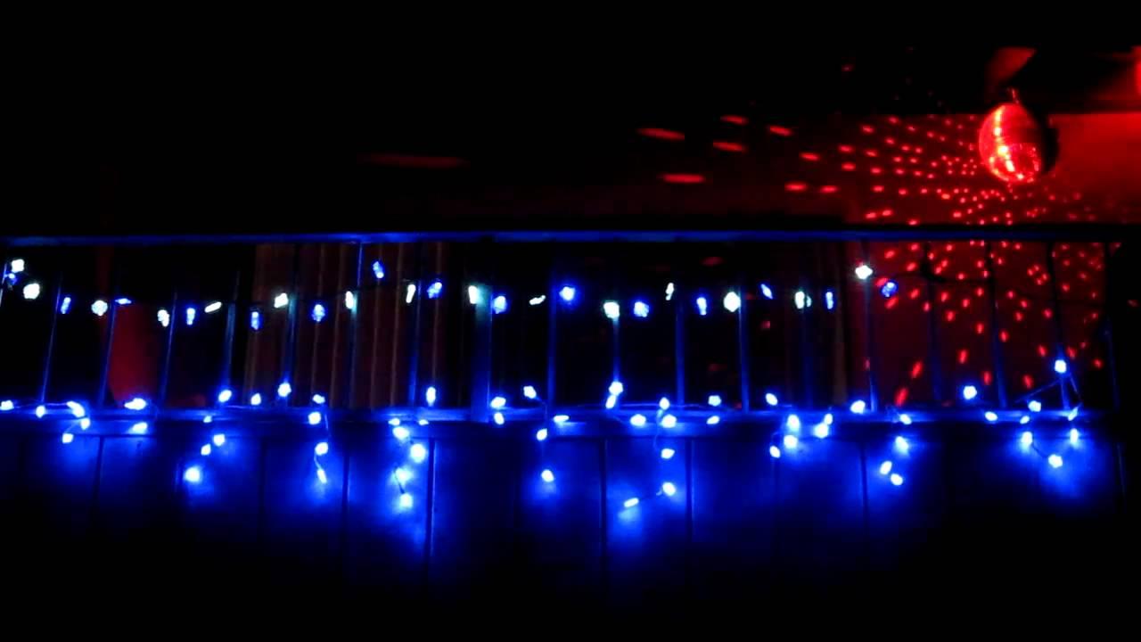 Disco Ball Christmas Lights 2010