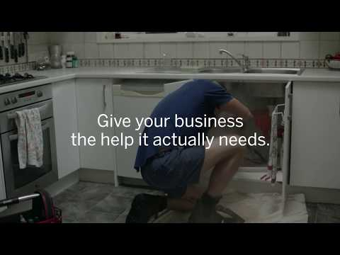 Amex Business Celebrity Intern – The Plumber