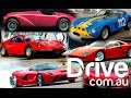 Top 7 Ferrari models | Ferrari 70th Anniversary | Drive.com.au