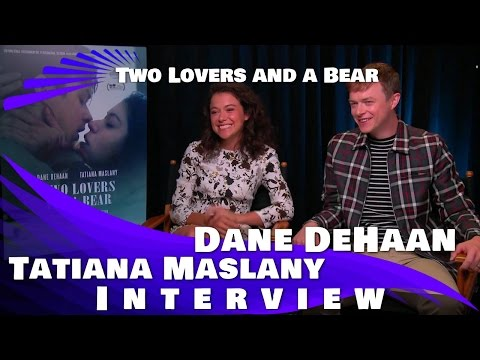 Two Lovers and A Bear - Tatiana Maslany and Dane DeHaan Interview