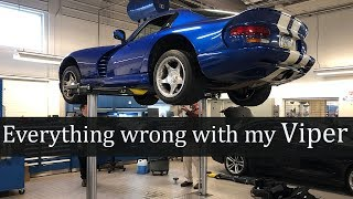 All the things wrong with my new Dodge Viper