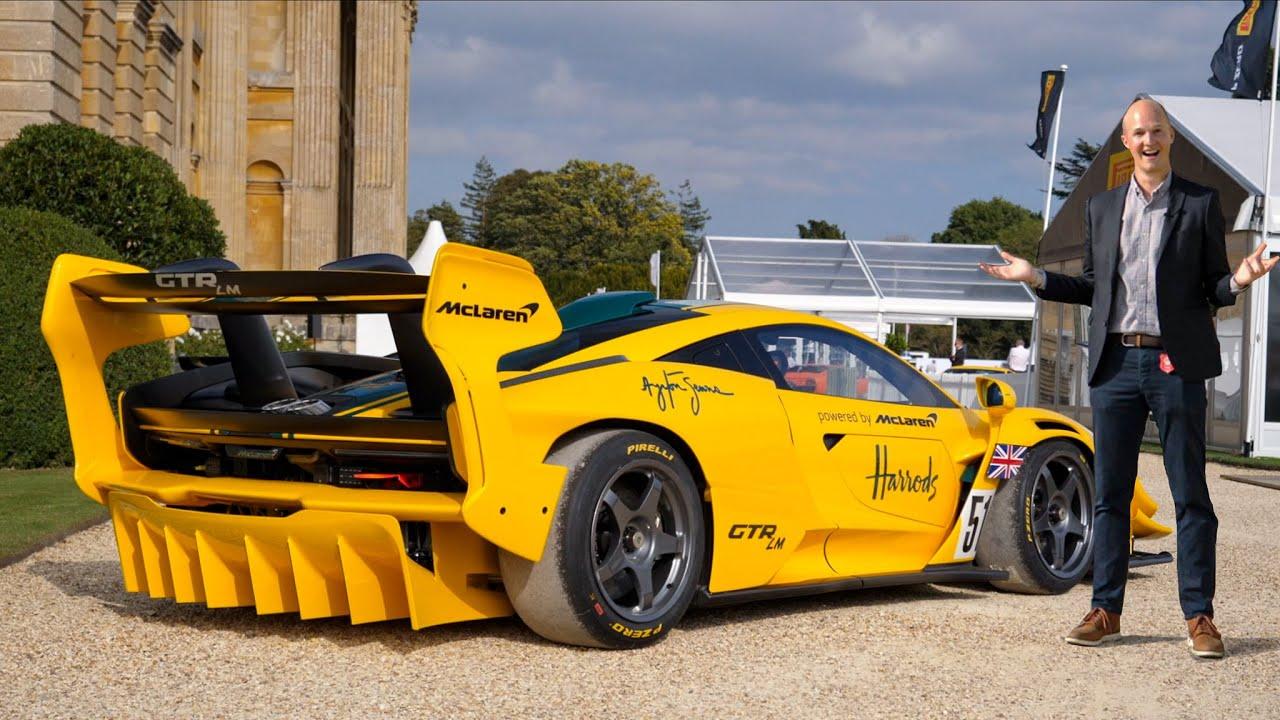 NEW 833hp McLaren Senna GTR LM!