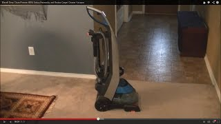 bissell deep clean premier 80r4 unbox assembly and review carpet cleaner vacuum