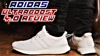 Adidas Ultraboost 4.0 TRIPLE WHITE REVIEW and ON-FEET