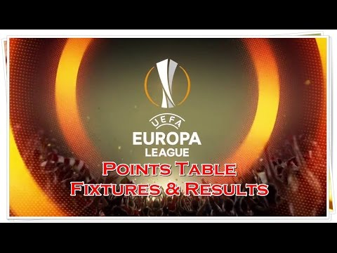 Europa league points table, fixtures & results (03-11-2016)