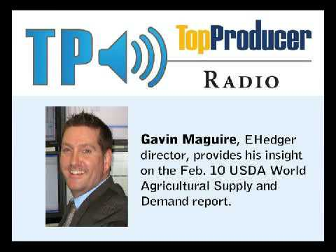 TP Radio: World Ag Supply and Demand Insight