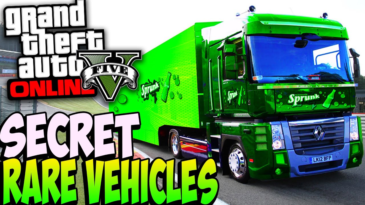 Gta 5 Cars List: RARE CARS SHOWCASE After Patch 1.22