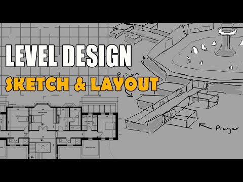 Sketch & Layout | First Person Level Design in Unity (Part 1) thumbnail