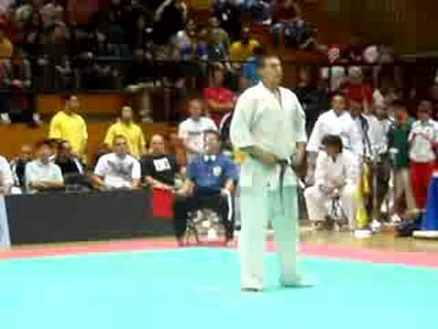 All American Open Karate 2008 - Bulgarian Bear - P. Martinov vs. K. Aso