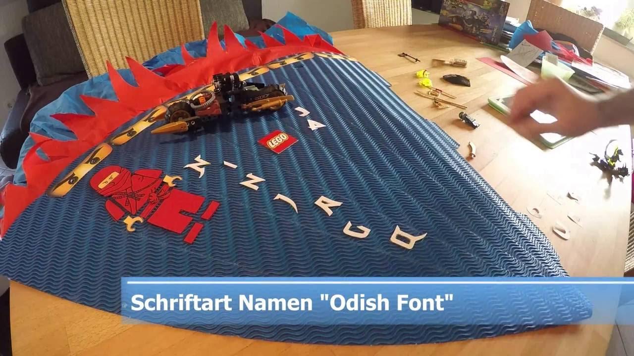 Jungs Schultute Basteln Zuckertute Lego Ninjago Mit Beleuchtung
