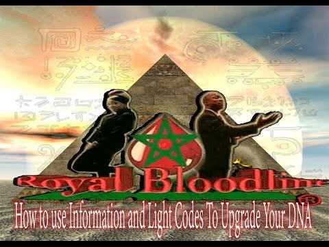 How to use Information and Light Codes to Upgrade your DNA : Royalbloodline Live
