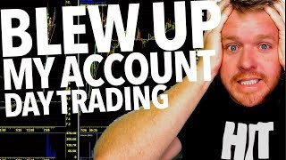LOSING $2000 DOLLARS DAY TRADING LIVE!