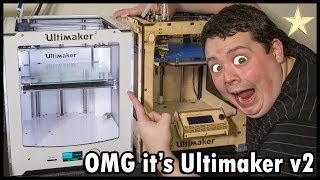 Ultimaker 2 Unboxing, Review & Lot