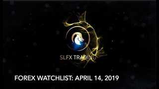 Forex Watchlist for April 14,2019 | SLFX Trading