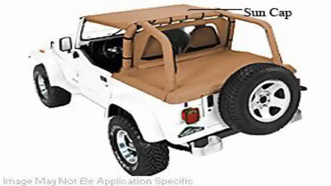 pavement end bikini top for 1992 1993 jeep wrangler - youtube