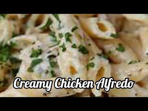 Easy Chicken Alfredo Penne