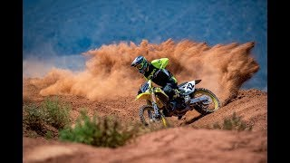 Jake Weimer Ripping a RM250 Two-Stroke on SX