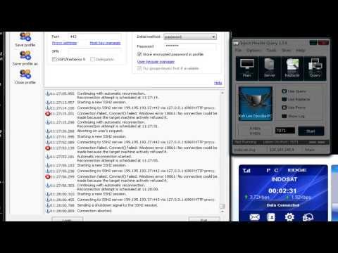 MENGATASI ERROR 10061 - SSH
