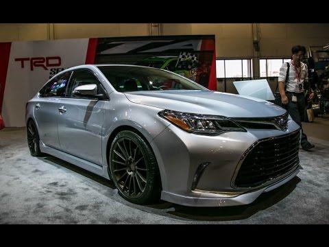 Sema 15 Toyota Avalon Trd Youtube