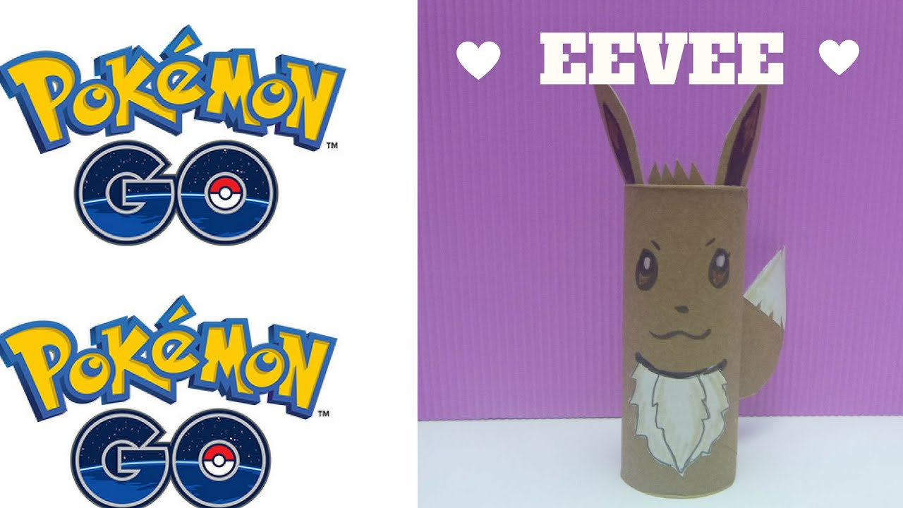 Pokemon go how to make a toilet roll eevee toilet paper roll pokemon go how to make a toilet roll eevee toilet paper roll crafts youtube jeuxipadfo Choice Image